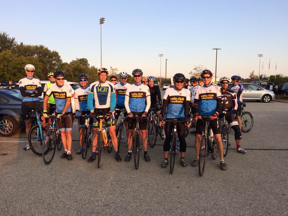 Velo Club Roubaix - Early Morning Septenber Ride