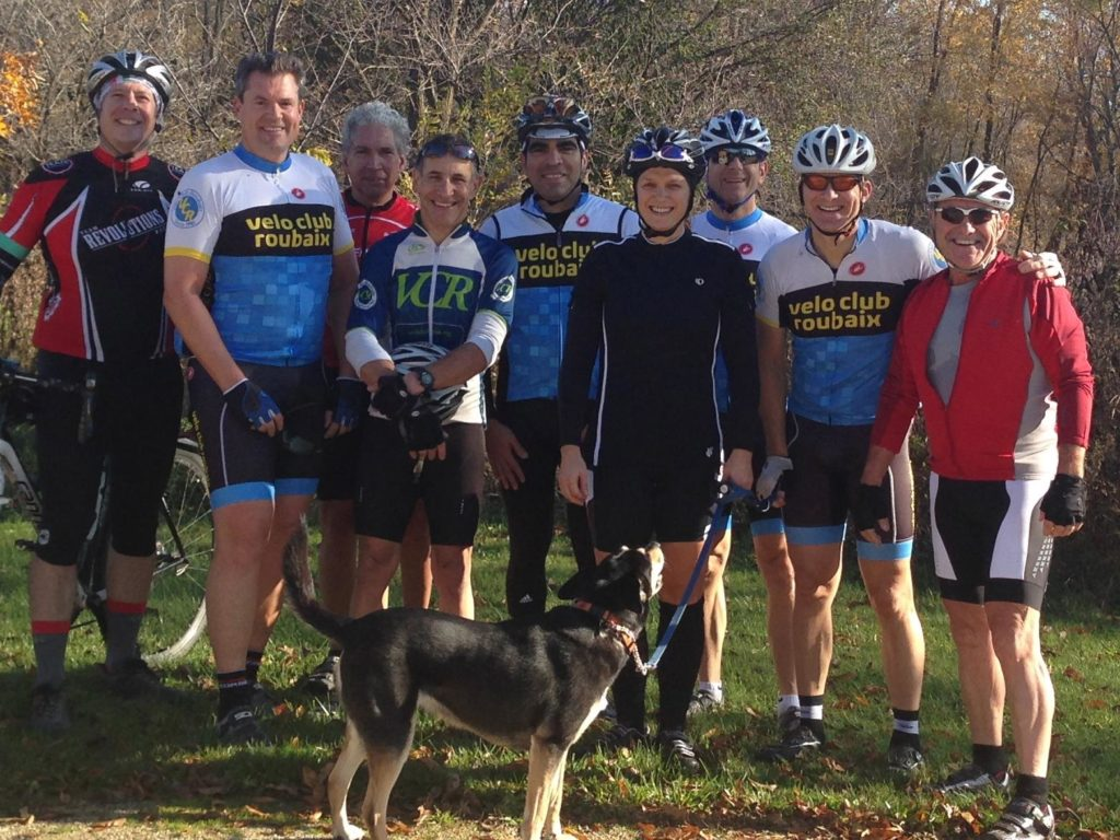 Velo Club Roubaix - With a coonhound