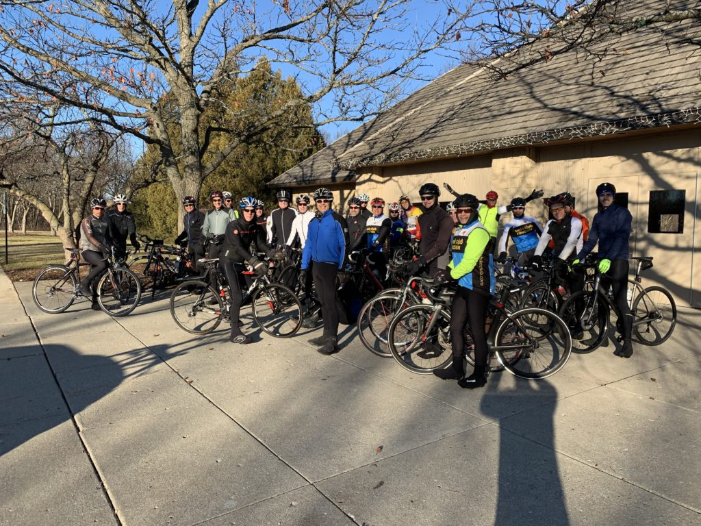 Velo Club Roubaix - Winter Ride from Northcroft Park