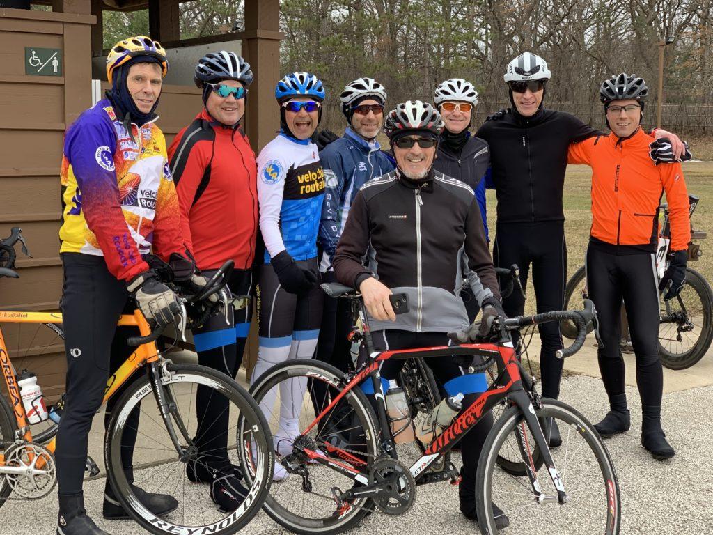 Velo Club Roubaix - Winter ride - Ivanhoe