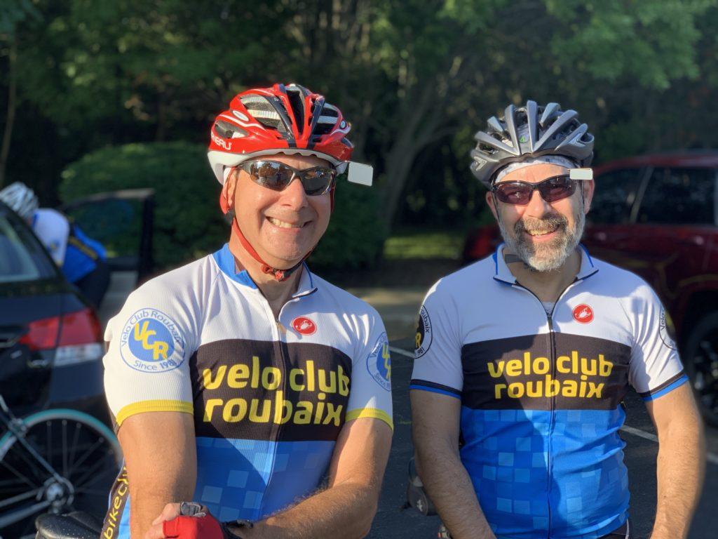 Velo Club Roubaix - Alan and Steve