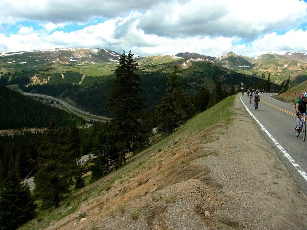 Velo Club Roubaix - Loveland Pass climb