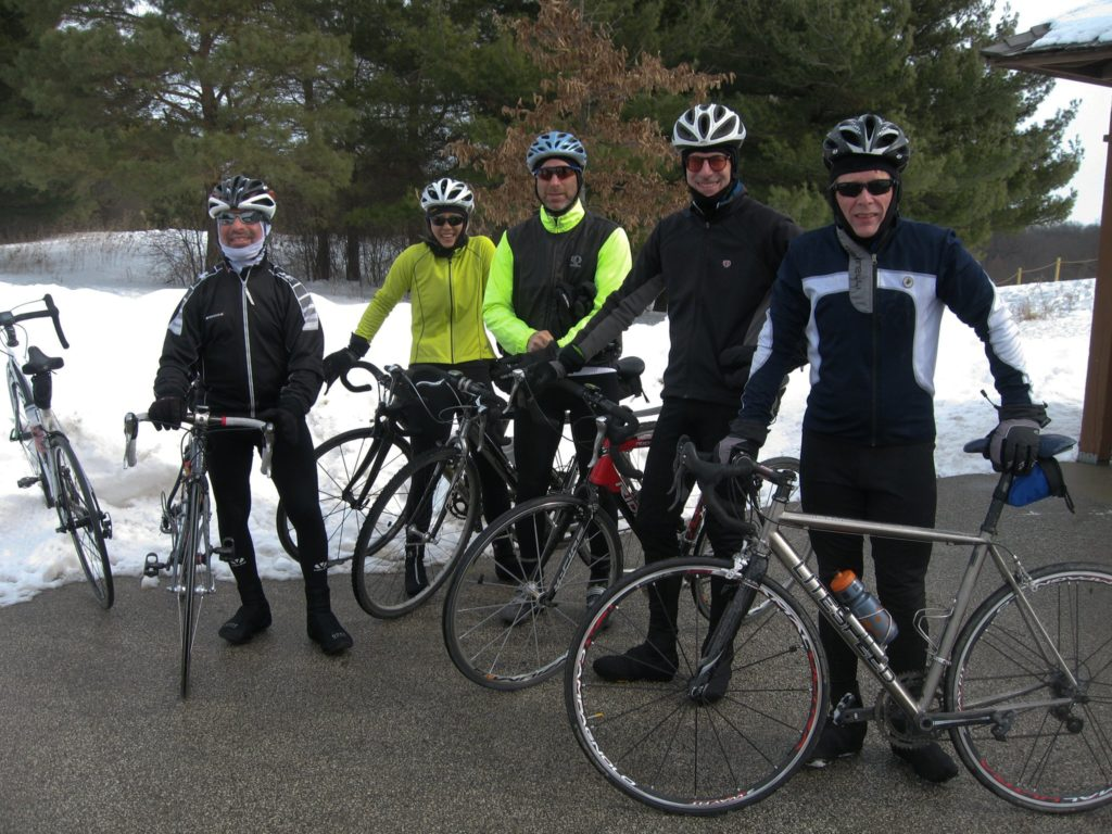 Velo Club Roubaix - Winter ride with Stue Holt